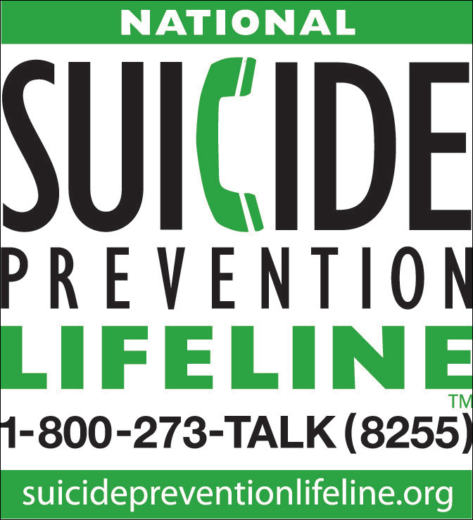 National Suicide Prevention Lifeline Wallet Card